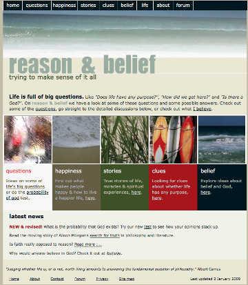 Reason & Belief 2009