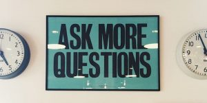 Three questions about faith, meaning and purpose