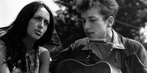 Joan Baez and Bob Dylan, Civil Rights March, Washington, DC, 28 Aug 1963