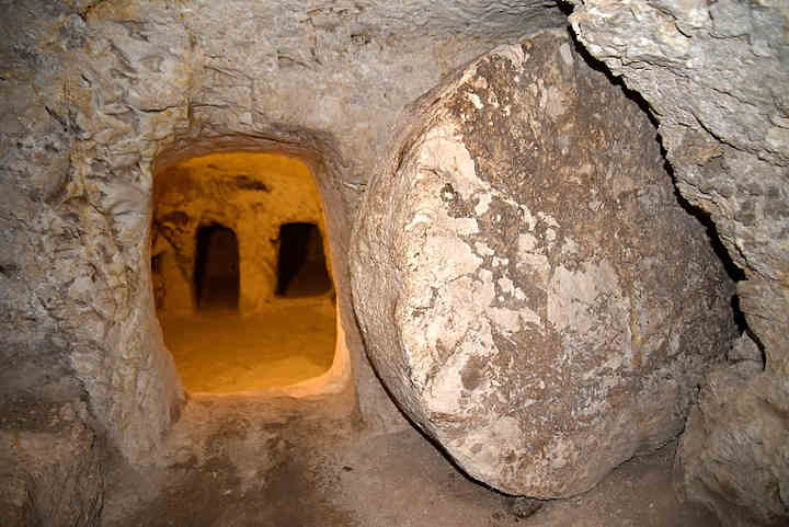 First century tomb at Nazareth